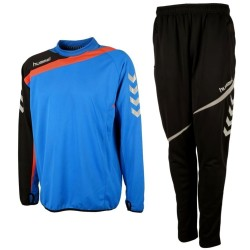 Hummel Teamwear Tech-2 technical trainingsanzug - blau/schwarz