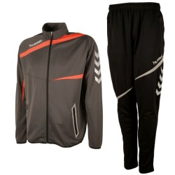 Hummel Teamwear Tech-2 trainingsanzug - shadow/schwarz