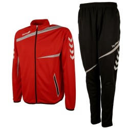 Hummel Teamwear Tech-2 trainingsanzug - rot/schwarz