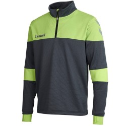 Hummel Teamwear Sirius technical trainingssweat - grau/light green