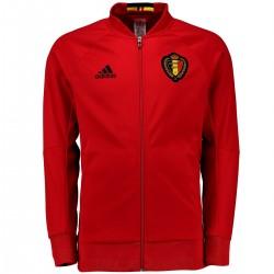Belgien Fußball Präsentation Anthem Trainingsjacke 2016/17 - Adidas