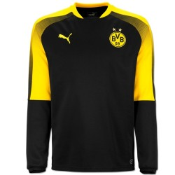 Borussia Dortmund black UCL training sweatshirt 2017/18 - Puma