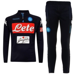 SSC Napoli navy training technical tracksuit 2017/18 - Kappa