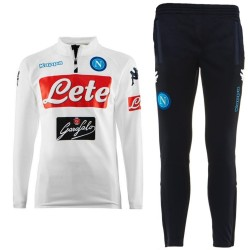 SSC Napoli white training technical tracksuit 2017/18 - Kappa