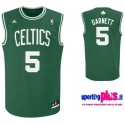 Boston Celtics Basketball Jersey 2010/11 by Adidas-Garnett 5
