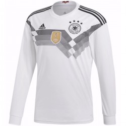 Germany Home football shirt World Cup 2018 long sleeves - Adidas