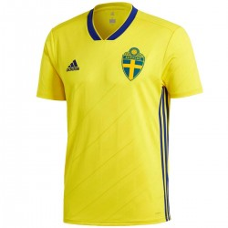 Sweden football team Home shirt 2018/19 - Adidas