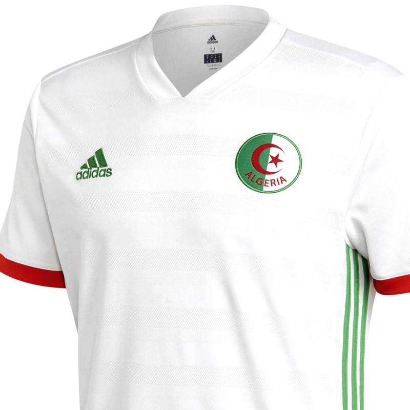 maillot de foot algerie domicile 2018 19 adidas. Black Bedroom Furniture Sets. Home Design Ideas