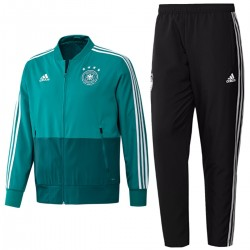 Germany football team green presentation tracksuit 2018/19 - Adidas