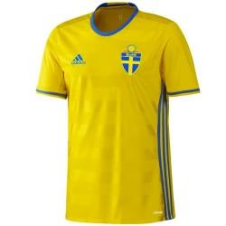 Schweden Fußball Player Issue heimtrikot 2016/17 - Adidas