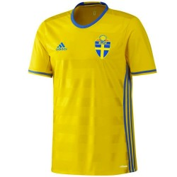Sweden national team Player Issue Home shirt 2016/17 - Adidas