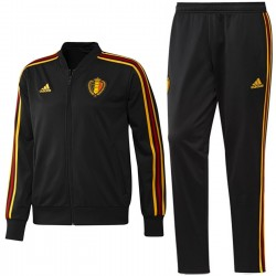 Belgium players training bench tracksuit 2018/19 - Adidas