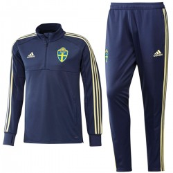 Sweden technical training tracksuit 2018/19 navy - Adidas