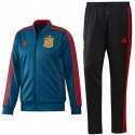 Spain players training bench tracksuit 2018/19 - Adidas