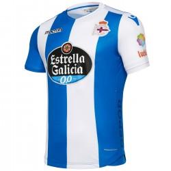 Deportivo La Coruña Fußball Trikot Home 2017/18 - Macron
