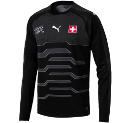 Switzerland football team Home goalkeeper shirt 2018/19 - Puma