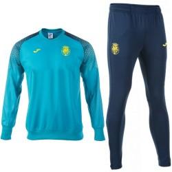 Chandal sweat de entreno azul Villarreal CF 2017/18 - Joma