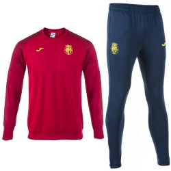 Survetement sweat d'entrainement Villarreal CF 2017/18 - Joma