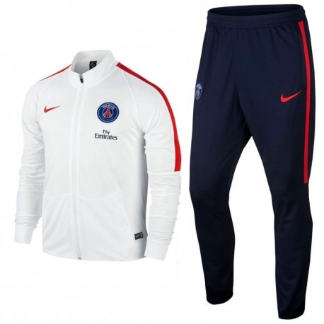 PSG training tracksuit 2016/17 white - Nike
