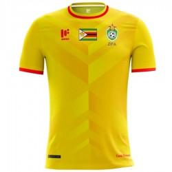 Simbabwe National Team Home Fußball Trikot 2018 - Mafro