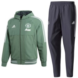 Manchester United training presentation tracksuit 2018 - Adidas