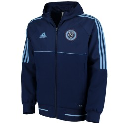 New York City FC pre-match presentation jacket 2016/17 - Adidas