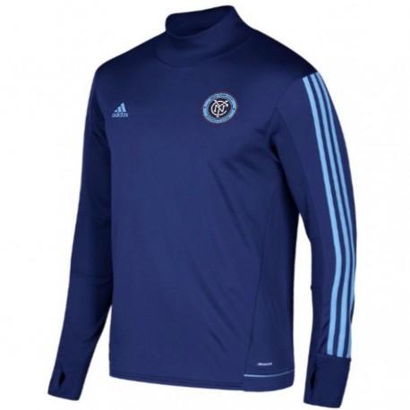 New York City FC training technical sweatshirt 2017/18 - Adidas