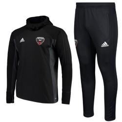 Survetement Tech d'entrainement DC United warm-up 2017/18 - Adidas