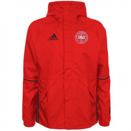 Denmark training technical rain jacket 201617 Adidas