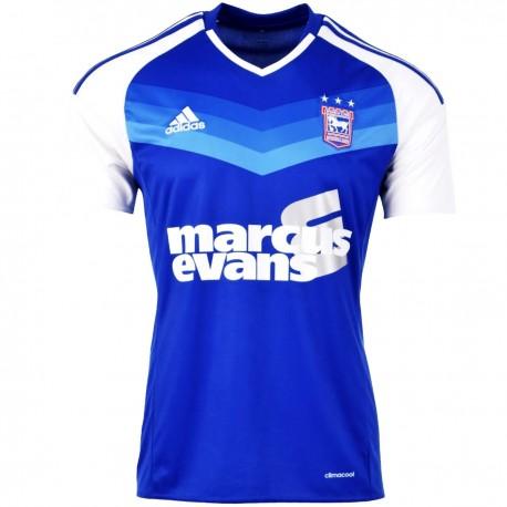 Ipswich Town FC Home football shirt 2016/17 - Adidas