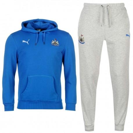 Newcastle United leisure hooded presentation suit 2017/18 - Puma
