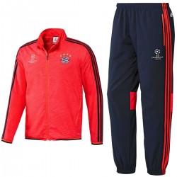Bayern München UCL Präsentation Trainingsanzug 2015/16 - Adidas