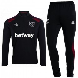 West Ham United black technical training tracksuit 2017/18 - Umbro