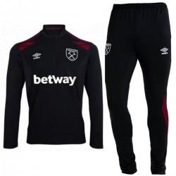 West Ham United Fußball tech trainingsanzug 2017/18 schwarz - Umbro