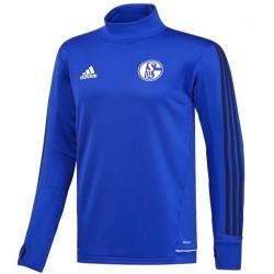 Sudadera tecnica de entreno Schalke 04 2017/18 - Adidas
