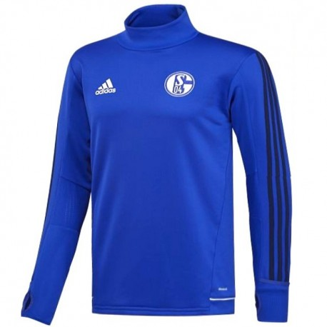 Schalke 04 technical training sweatshirt 2017/18 - Adidas