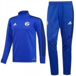 Survetement Tech d'entrainement Schalke 04 2017/18 - Adidas