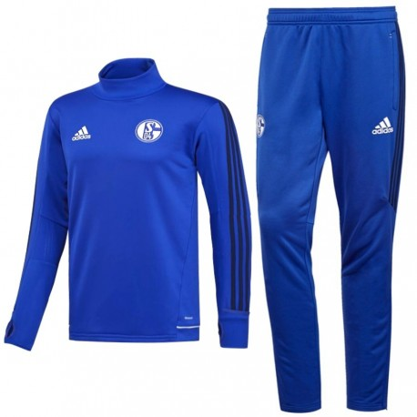 Schalke 04 training technical tracksuit 2017/18 - Adidas