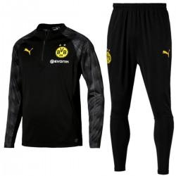 Tuta tecnica da allenamento nera Borussia Dortmund 2018 - Puma