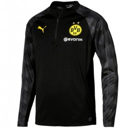 Borussia Dortmund black training technical sweatshirt 2018 - Puma