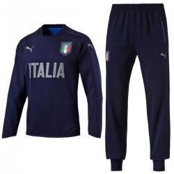 Italien-Nationalmannschaft baumwolle sweat Präsentation trainingsanzug 2016/17 - Puma