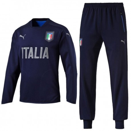 Italy national team cotton sweat presentation tracksuit 2016/17 - Puma