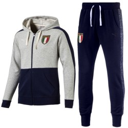 Italy national team Vintage Badge presentation tracksuit 2017/18 - Puma