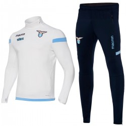 SS Lazio technical trainingsanzug 2017/18 weiss - Macron