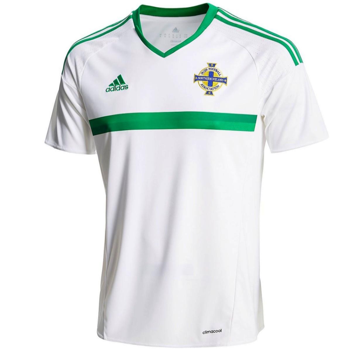 suéter áspero maceta  Camiseta de fútbol Irlanda del Norte segunda 2016/17 - Adidas