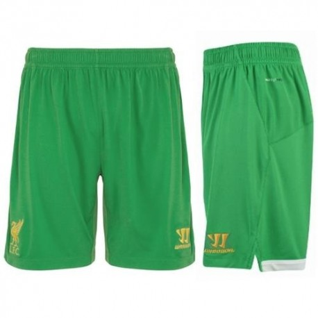 Liverpool Fc arquero Shorts cortos Casa 2012/13-Guerrero