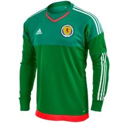 Scotland goalkeeper Home football shirt 2016/17 - Adidas