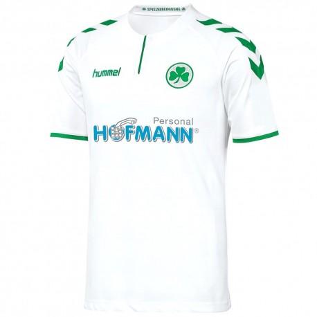Greuther Furth Home shirt 2017/18 - Hummel