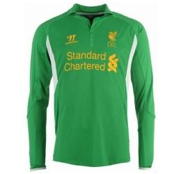 Liverpool Fc Goalkeeper Soccer Jersey Home 2012/13 long sleeves-Warrior