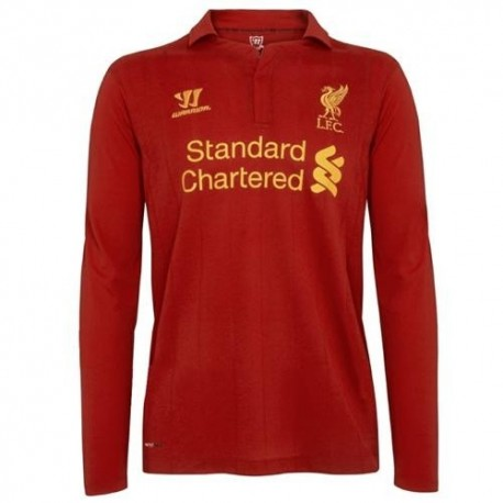 Liverpool Fc Soccer Jersey casa 2012/2013 largas mangas-Guerrero
